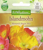 Islandmohn (Samen) Monarch-Strain-Mix