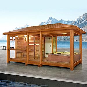 vertr gt sich ein sauna gang mit dem fasten. Black Bedroom Furniture Sets. Home Design Ideas
